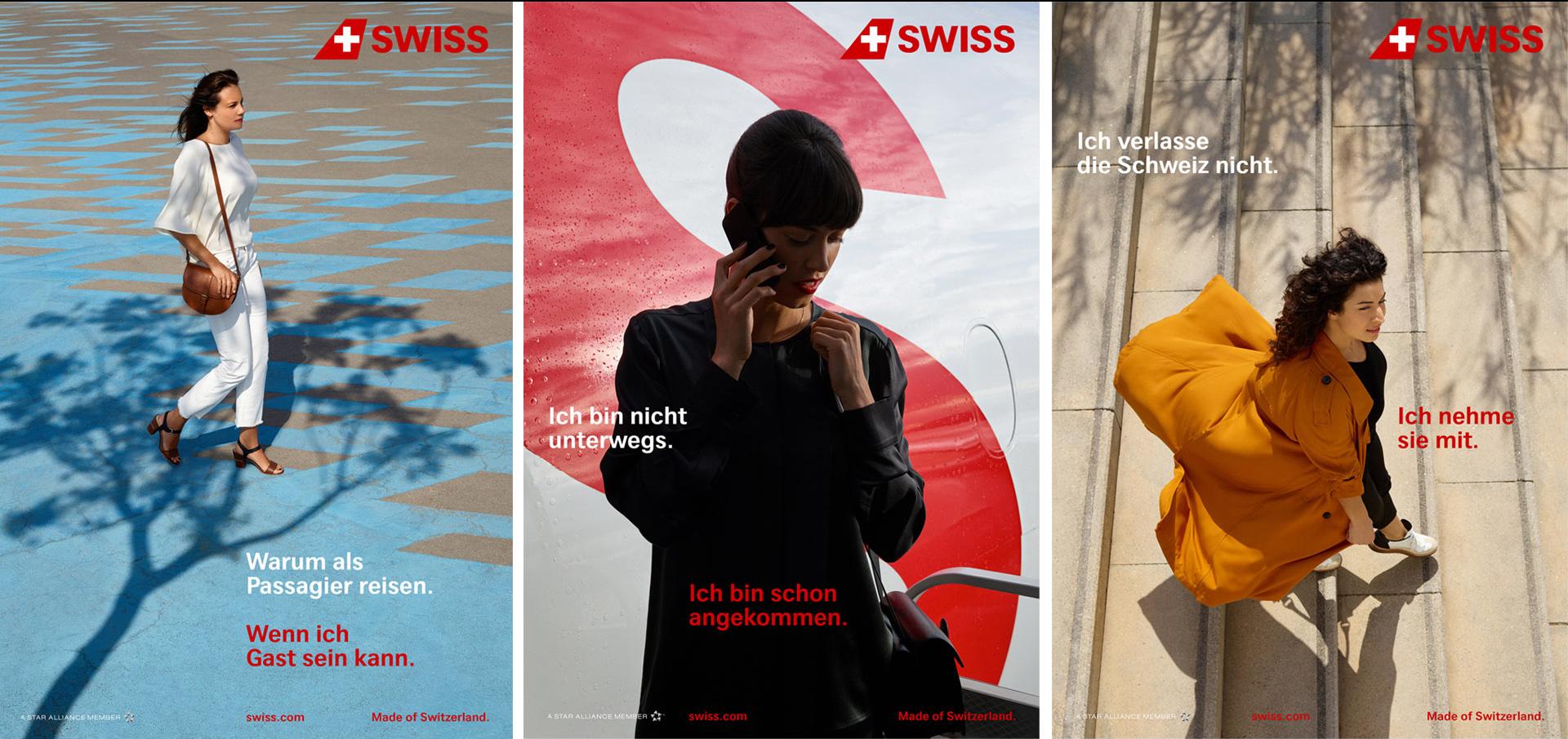 matter of design, SWISS, Launch, Publicis