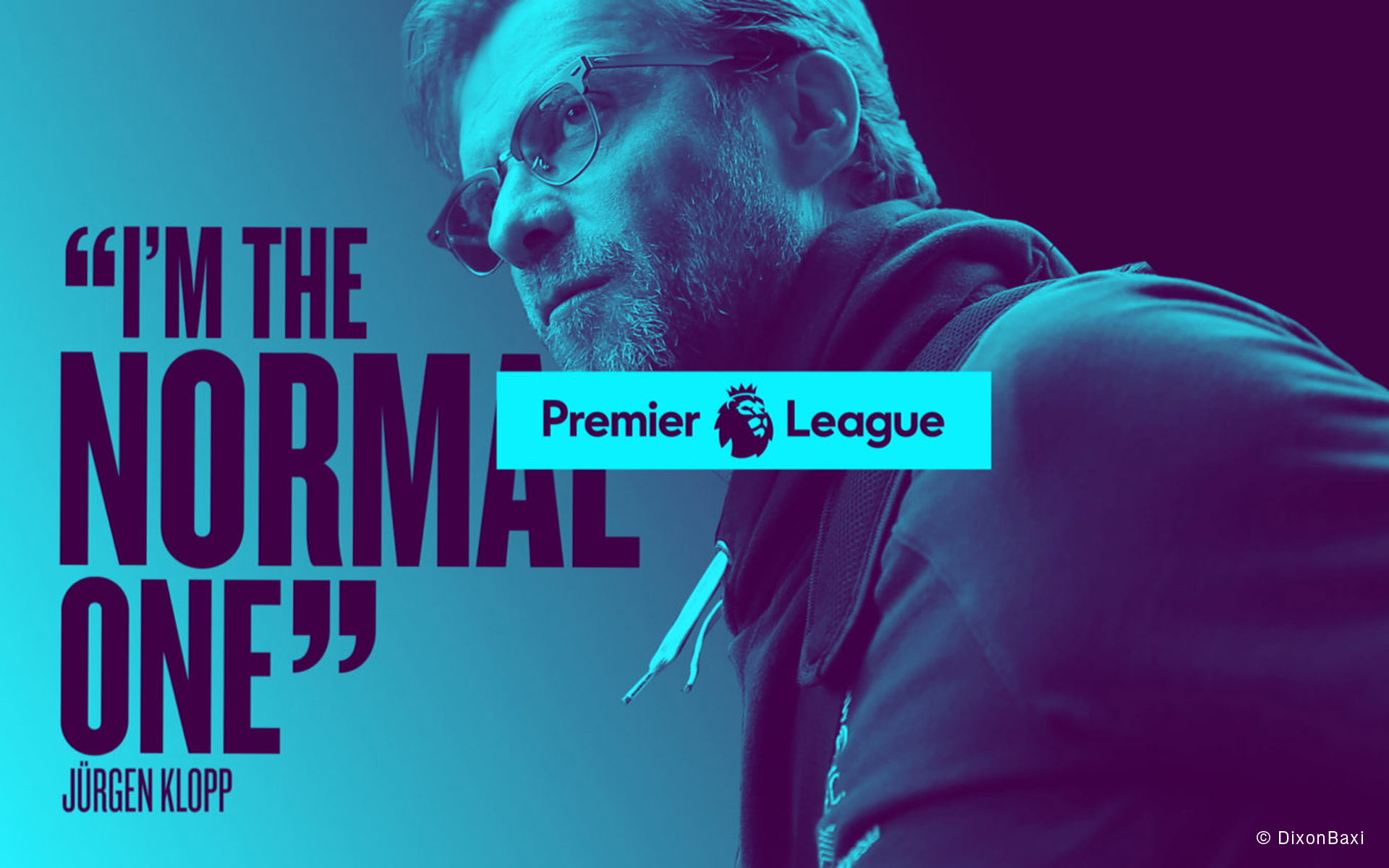 matter of design, Redesign. Premier League, Screendesign