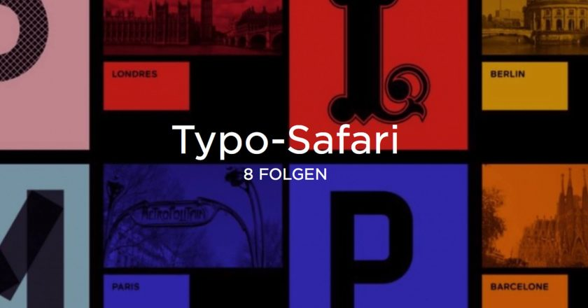 "ARTE Creative ""Typo-Safari"", matter of design, Follow this #4"