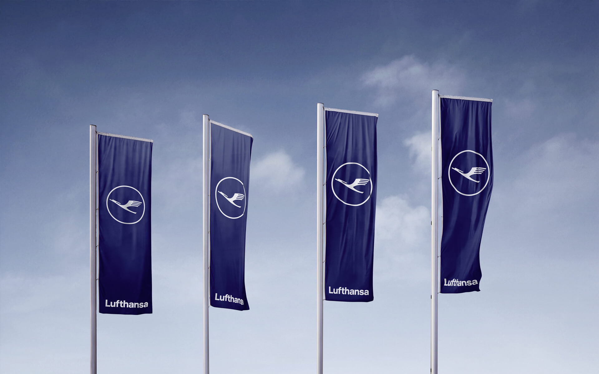 Lufthansa Corporate Design 2018, Redesign, Signage