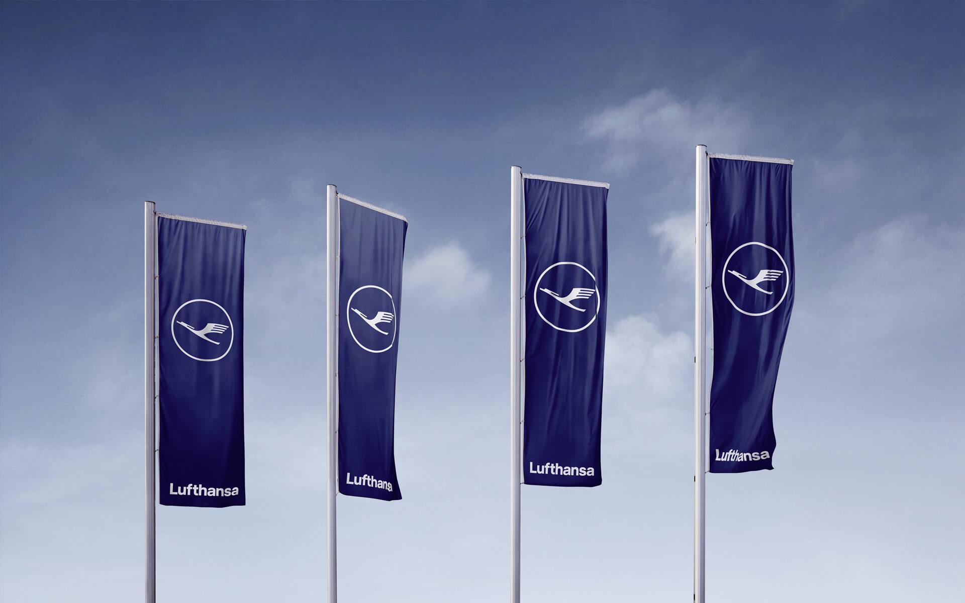 Lufthansa Corporate Design 2018, Redesign, Signage
