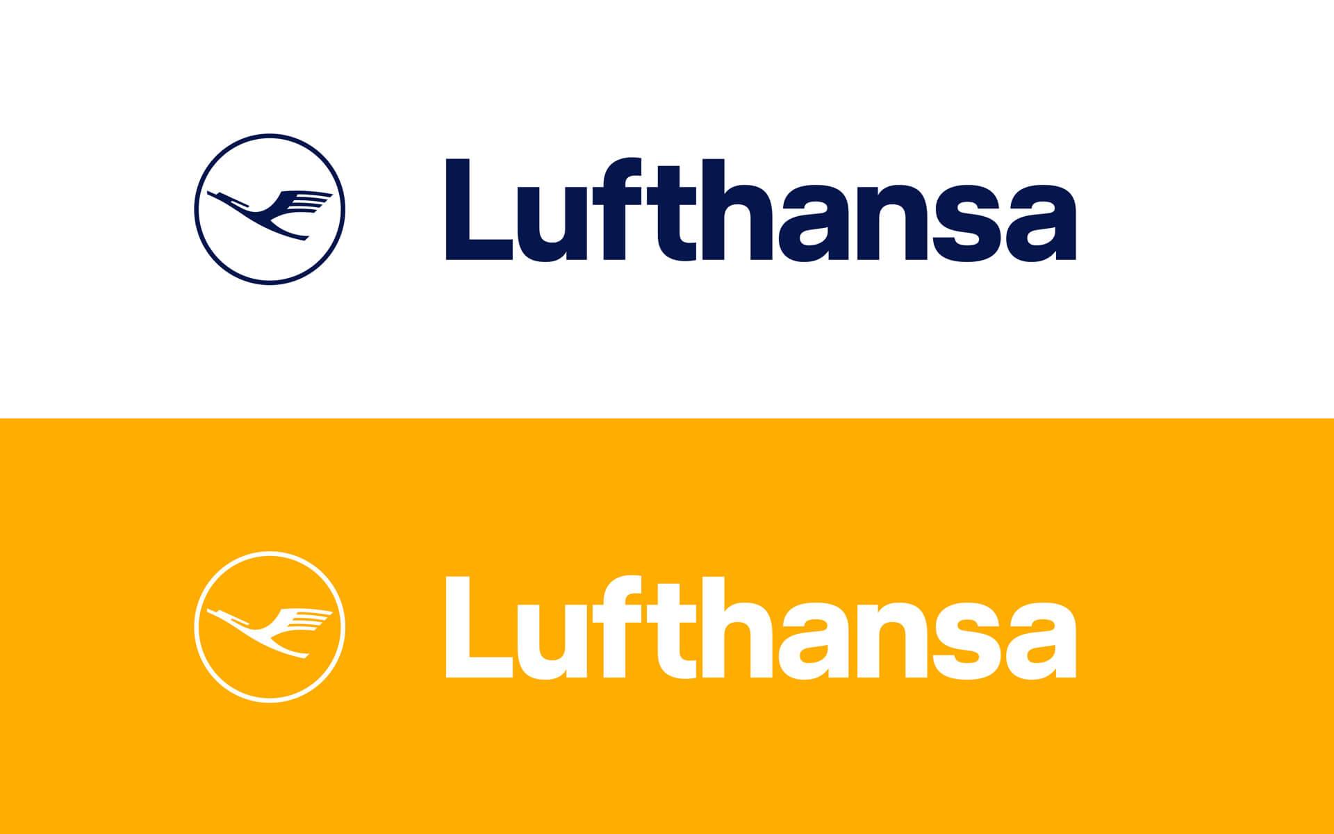Lufthansa Corporate Design 2018, Redesign, Logotype