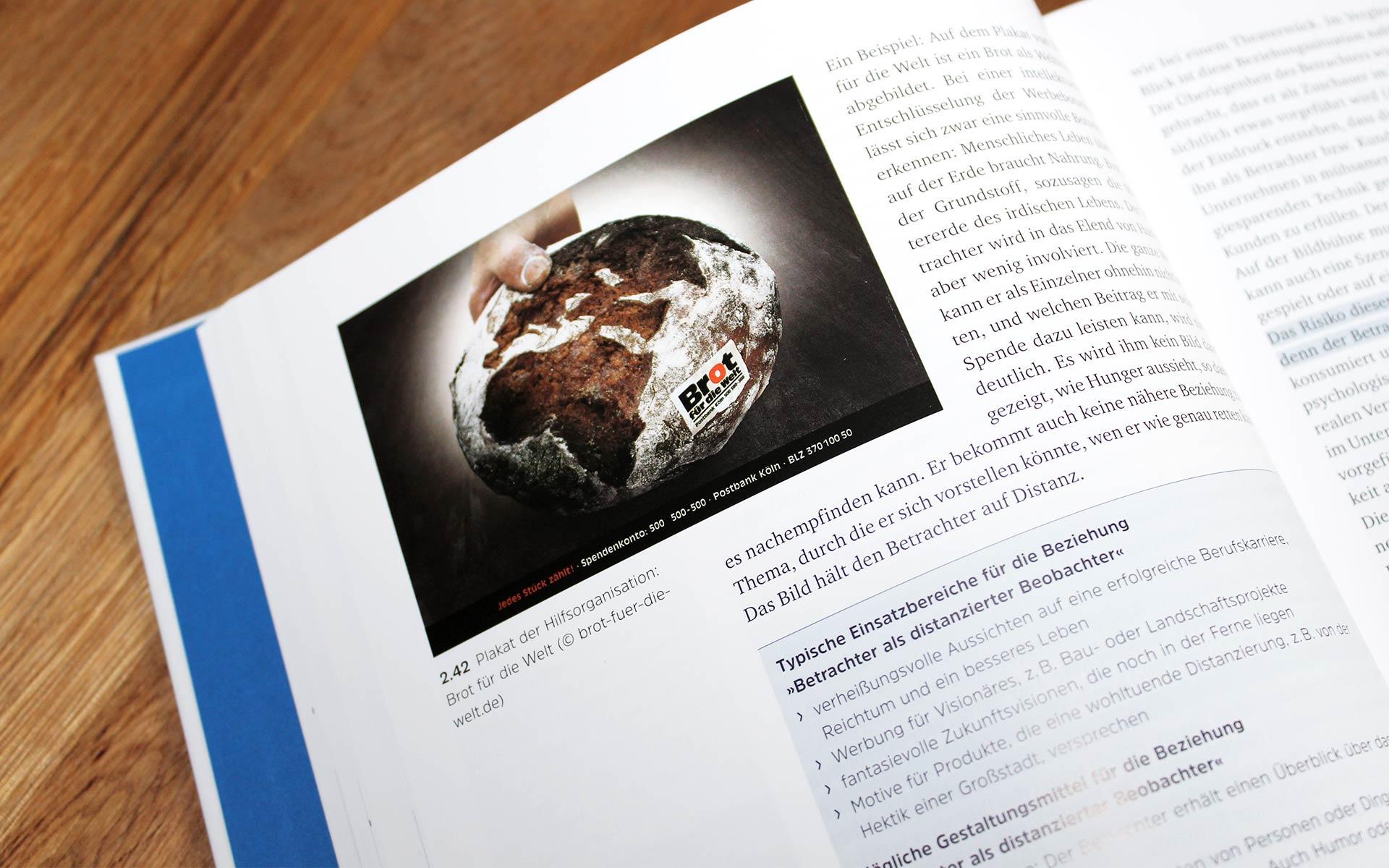 """Eine exemplarische Innenseite aus dem Buch """"Wie Design wirkt"""""""