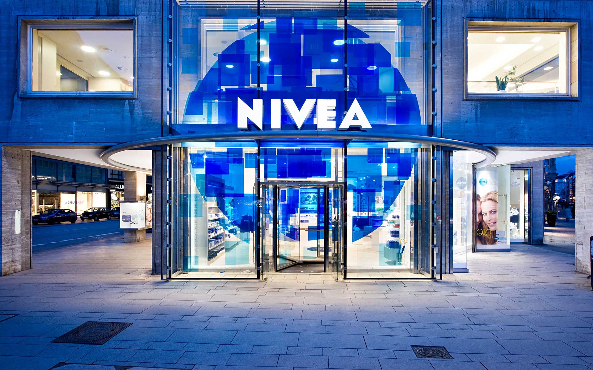 NIVEA-Store in Hamburg