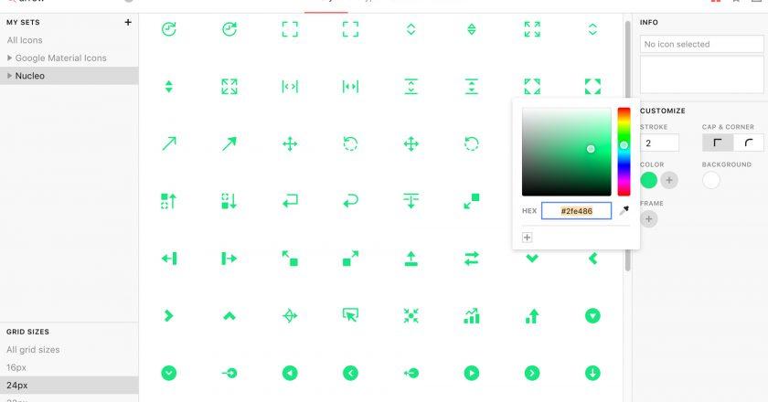 auswahl, kriterien, auswahlkriterien, icon, icon set, digital, web, webdesign, design, entwicklung, webentwicklung, artikel, wissen, matter of design